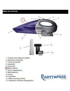 Φίλτρο για σκουπάκι επαναφορτιζόμενο IZZY original IZZY SKXFIL0005