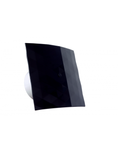 Εξαεριστήρας μπάνιου/λουτρού Φ100 BLACK DOSPEL ΓΕΝΙΚΗΣ ΧΡΗΣΗΣ EXB0009