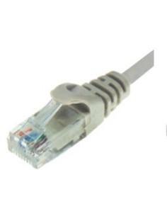 Καλώδιο δικτύου CAT6 UTP patch cord 1m σε γκρι χρώμα ΓΕΝΙΚΗΣ ΧΡΗΣΗΣ UTP0002