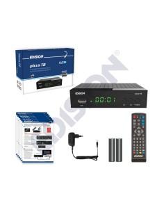 Επίγειος ψηφιακός δέκτης MPEG-4 υψηλής ευκρίνειας PICCO T2 EDISION EDISION DKT0001