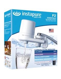 Φίλτρο νερού βρύσης από την Instapure με λευκό κορμό και λευκό καπάκι INSTAPURE 50020