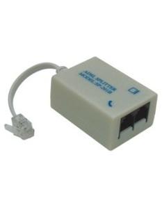 Φίλτρο ADSL και splitter από μία τηλεφωνική γραμμή σε μία τηλεφωνική γραμμή και ένα modem (για γραμμές PSTN)  PH0001