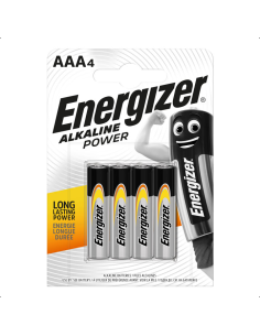 Αλκαλική μπαταρία ΑΑA - LR03 ENERGIZER σε 4 τεμαχίων ENERGIZER ALKA0001E