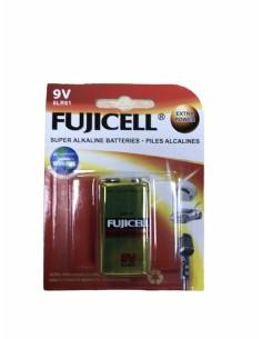Αλκαλική μπαταρία πλακέ 9V - 6LR61 FUJICELL FUJICELL ALKA0003F