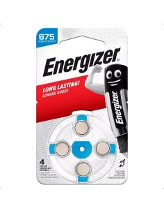 Μπαταρία ακουστικών βαρηκοΐας ZA675, 1.45V, σε blister 4 μπαταριών ENERGIZER  ZAIR0675