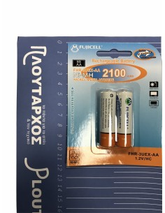 Επαναφορτιζόμενη μπαταρία ΑΑ Νi-MH 2100 mAh 1.2V FUJICELL FUJICELL BEP0002F