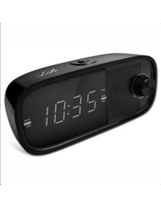 """Ραδιόφωνο / Ρολόι / Ξυπνητήρι με οθόνη LED και ψηφία 0.9"""" LIFE  221-0081"""