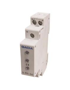 Ενδεικτικές λυχνίες ράγας τριφασική πίνακος με LED πίνακος GACIA GACIA RGG0005