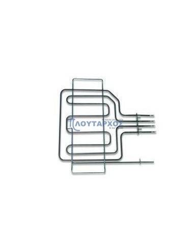 Αντιστάσεις Κουζίνας Άνω Μέρος - Αντίσταση με γκριλ (2800watt 220volt) άνω φούρνου κουζίνας SIEMENS/PITSOS με θέση θερμοστάτη