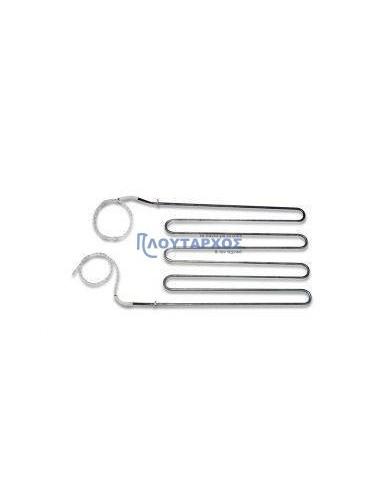Αντιστάσεις Θερμοσυσσωρευτών SΙΕΜΕΝS - ΑΝΤΙΣΤΑΣΗ ΘΕΡΜΟΣΥΣΣΩΡΕΥΤΟΥ SIEMENS 750W ΜΕ ΚΑΛΩΔΙΟ 50cm (2 κουρ 44cmX13cm) 41cm  λαμάκι