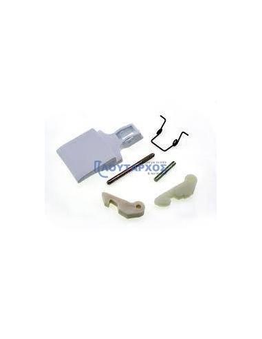 ARISTON Κλείστρο πόρτας set (λευκό χρώμα) πλυντηρίου ρούχων ARISTON (AF553T-554T)/INDESIT Κλείστρα Πλυντηρίων ρούχων