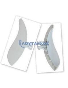 Κλείστρα Πλυντηρίων ρούχων - Κλείστρο πόρτας (λαβή - λευκό χρώμα) πλυντηρίου ρούχων ARCELIK/BEKO/ESKIMO/SCHAUB LORENZ