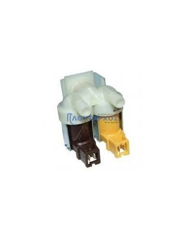 Βαλβίδα διπλή ίσια εισαγωγής νερού πλυντηρίου ρούχων PITSOS/SIEMENS/BOSCH BOSCH PRBAL0017