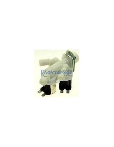 Βαλβίδες Πλυντηρίων ρούχων - Βαλβίδα (220V, τριπλή, Φ12) εισαγωγής νερού πλυντηρίου ρούχων ΓΕΝΙΚΗΣ ΧΡΗΣΗΣ