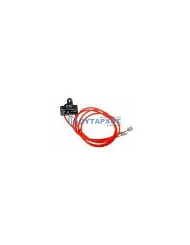 PITSOS  Θερμικό (με 2 καλώδια - πορτοκαλί) ψυγείου PITSOS/SIEMENS/BOSCH/WHIRLPOOL Αισθητήρες-Θερμικά ψυγειών