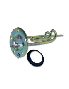 Αντιστάσεις θερμοσιφώνου  - Αντίσταση (1,5KW-220Volt, 5 τρύπες, διάμετρος 10cm) θερμοσιφώνου ΓΕΝΙΚΗΣ ΧΡΗΣΗΣ