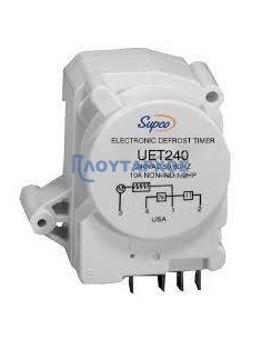 Χρονοδιακόπτες ψυγείων - Χρονοδιακόπτης απόψυξης ψυγείου UET 240 220volt 4 επαφών