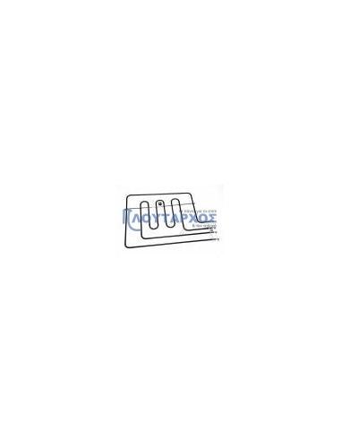 ZANUSSI  Αντίσταση με γκριλ (1200 + 1800watt, 220volt) άνω φούρνου κουζίνας AEG/ELECTROLUX Αντιστάσεις Κουζίνας Άνω Μέρος