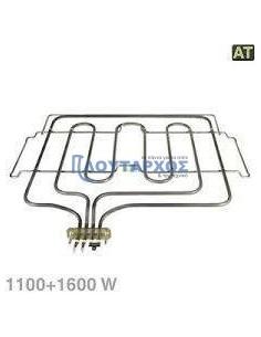 Αντιστάσεις Κουζίνας Άνω Μέρος - Αντίσταση με γκρίλ (1100+1600watt, 220volt) άνω φούρνου κουζίνας NEFF