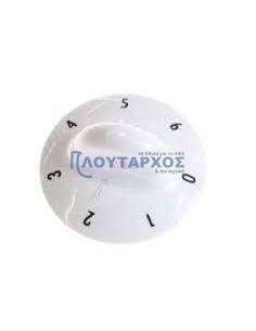 Κουμπί λευκό εστίας 0-6 κουζίνας KORTING/GORENJE original GORENJE FKKU0012