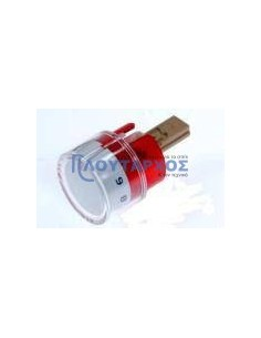 PITSOS Κουμπί πατητό λευκό χρώμα, θερμοστατικής εστίας κουζίνας PITSOS/SIEMENS/BOSCH original Κουμπιά Κουζίνας