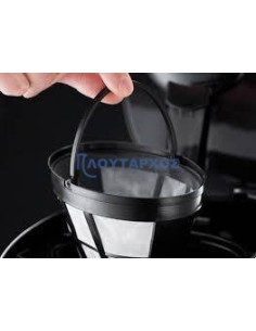 Φίλτρο καφετιέρας  μόνιμο με κουτάλι δοσομετρηρή