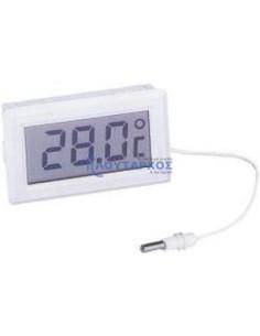 ΓΕΝΙΚΗΣ ΧΡΗΣΗΣ  Θερμόμετρο ηλεκτρονικό χωνεύτο με μπαταρία ΓΕΝΙΚΗΣ ΧΡΗΣΗΣ Ψυγείου