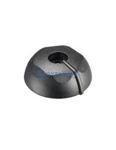 FISSLER Κέλυφος μαύρο λαβής ρύθμισης κεντρικής βαλβίδας χύτρας ταχύτητος FISSLER original Χύτρα-Κατσαρόλα