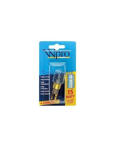 Λαμπτήρας φωτισμού ψυγείου/φούρνου μικροκυμάτων WHIRLPOOL/SHARP Λυχνίες ψυγείων