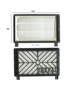 PHILIPS Φίλτρο εισαγωγής αέρα μοτέρ σκούπας PHILIPS /ELECTROLUX Φίλτρα Ηλεκτρικής Σκούπας