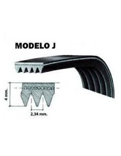 Ιμάντας ραβδωτός πλυντηρίου ρούχων 1250 J4