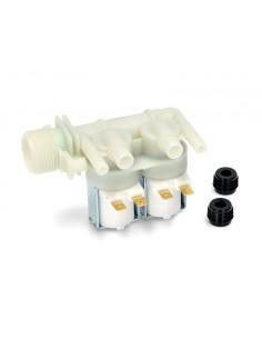 Βαλβίδες Πλυντηρίων ρούχων - Βαλβίδα (220V, διπλή - Φ10) εισαγωγής νερού πλυντηρίου ρούχων ARISTON/INDESIT