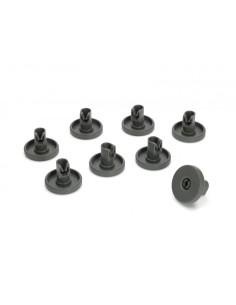 Ροδάκια Πλυντηρίων πιάτων - Ροδάκια (Σετ) σχάρας πλυντηρίου πιάτων AEG/ELECTROLUX/ZANUSSI