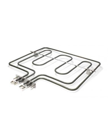 Αντιστάσεις Κουζίνας Άνω Μέρος - Αντίσταση με γκριλ (220volt - 800 + 1900watt) άνω φούρνου κουζίνας ZANUSSI/ELECTROLUX
