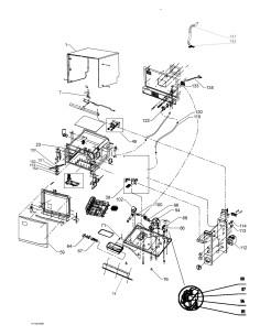 Λάστιχο πόρτας πλυντηρίου πιάτων ZANUSSI original/genuine ZANUSSI PPFLA0005