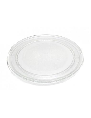 ΓΕΝΙΚΗΣ ΧΡΗΣΗΣ Δίσκος γυάλινος περιστρεφόμενος 24,5cm φούρνου μικροκυμάτων Πιάτα Φούρνου μικροκυμάτων