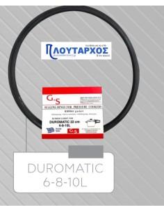 DUROMATIC  Λάστιχο καπακιού χύτρας ταχύτητος λίτρων DUROMATIC μεγάλο Χύτρα-Κατσαρόλα