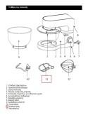 Αναδευτήρας κουζινομηχανής IZZY original