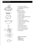 Βαλβίδα λειτουργίας πλήρης χύτρας ταχύτητος IZZY MOULINEX (NATURA) original