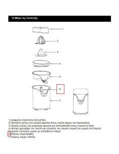 Άξονας περιστροφής (πέιρος) λεμονοστίφτη IZZY original IZZY LEKN0020