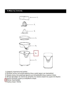 Άξονας περιστροφής (πέιρος)  λεμονοστίφτη IZZY original