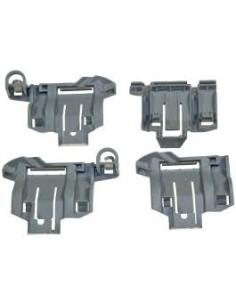 Κουμπώματα βάσεων σχάρας κάτω καλαθιού πλυντηρίου πιάτων BOSCH/SIEMENS original BOSCH PPSID0004