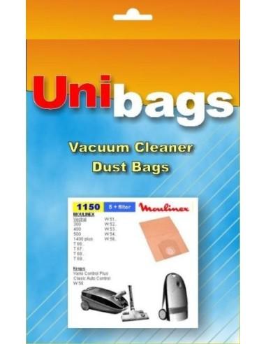 Σακούλα ηλεκτρικής σκούπας MOULINEX VECTRAL/KRUPS/CURTISS/ECOCLEAN MOULINEX SAK1150