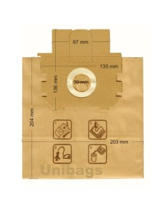 Σακούλα ηλεκτρικής σκούπας ELECTROLUX/PROGRESS/TORNADO ELECTROLUX SAK1480
