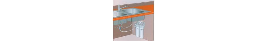 Φίλτρα νερού κάτω πάγκου, www.ploutarxoselectronics.gr